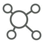 Piktogramm Gruppendynamik